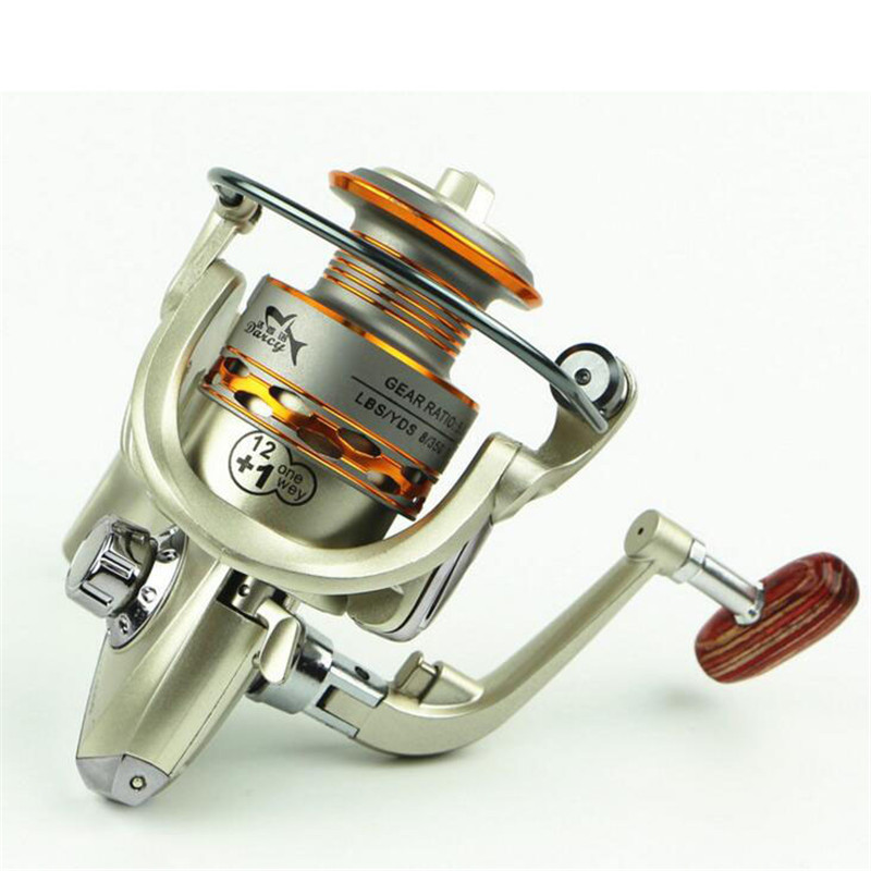 Spinning Fishing Reel pesca moulinet carpe peche baitcasting River Sea New Fly Fishing Reel 1000 2000 3000 4000 5000 6000 7000(China (Mainland))