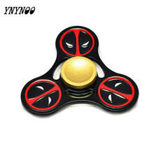 Buy YNYNOO Fidget Toy Hand Spinner Deadpools Metal Cubes Stress Spinner Game Autism ADHD Anxiety Stress Relief Focus Toys for $4.69 in AliExpress store