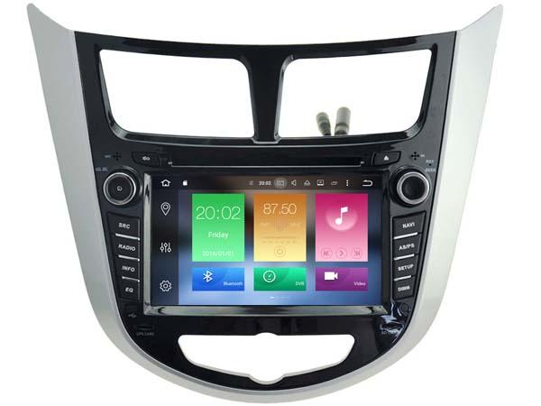 Android 6.0 CAR DVD GPS FOR HYUNDAI VERNA 2011-2016 support DVR WIFI DSP DAB car multimedia AUTO Octa 8 Core 2GB RAM 32GB ROM