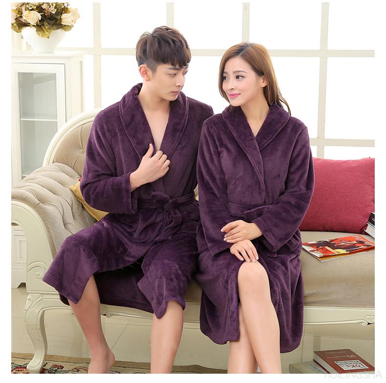 1401-Coral-Fleece-kimono-bathrobe-men-women-robes_10