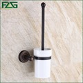 FLG New Arrival European Luxurious Bathroom Accessories Oil Rubbed Bronze Toilet Brush Holder Bath Products High