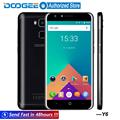 Doogee Y6 Fingerprint mobile phones 5 5Inch HD 2GB 16GB Android6 0 Dual SIM MTK6750 Qcta