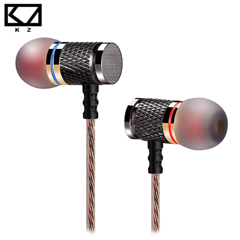 KZ ED2 Professional Earphones In Ear Headset Metal Heavy Bass Sound DJ MP3 MP4 Headset Music fone de ouvido for iphone Xiaomi(China (Mainland))