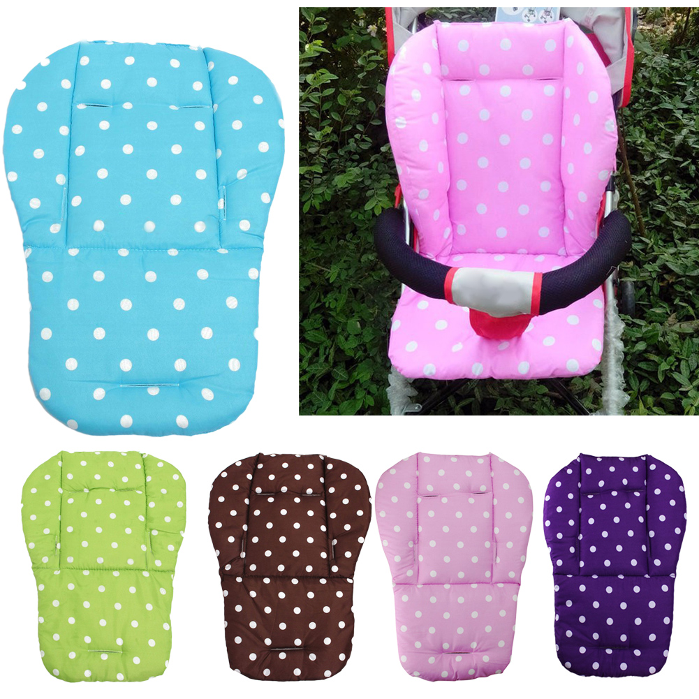 baby infant stroller seat pushchair cushion cotton mat dot 11street malaysia car seats. Black Bedroom Furniture Sets. Home Design Ideas