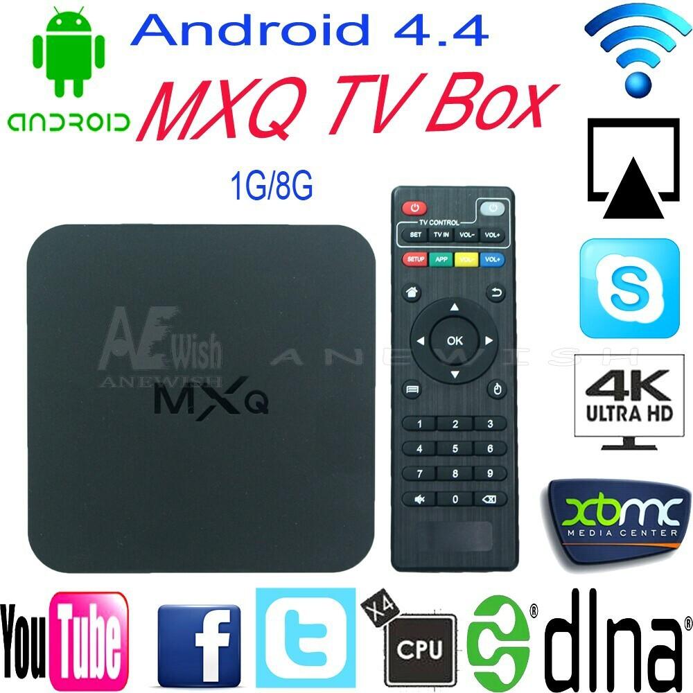 2015 Original New MXQ Android TV BOX Amlogic S805 Quad Core IPTV Android 4.4 Kitkat with KODI better than MX, M8, CS918, Minix(China (Mainland))