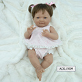 NPK COLLECTION Silicone Reborn Child Doll Toys Lifelike Play Home New child Bebe Boy Infants Brithday Reward Bathe Bathe Bedtime Toy