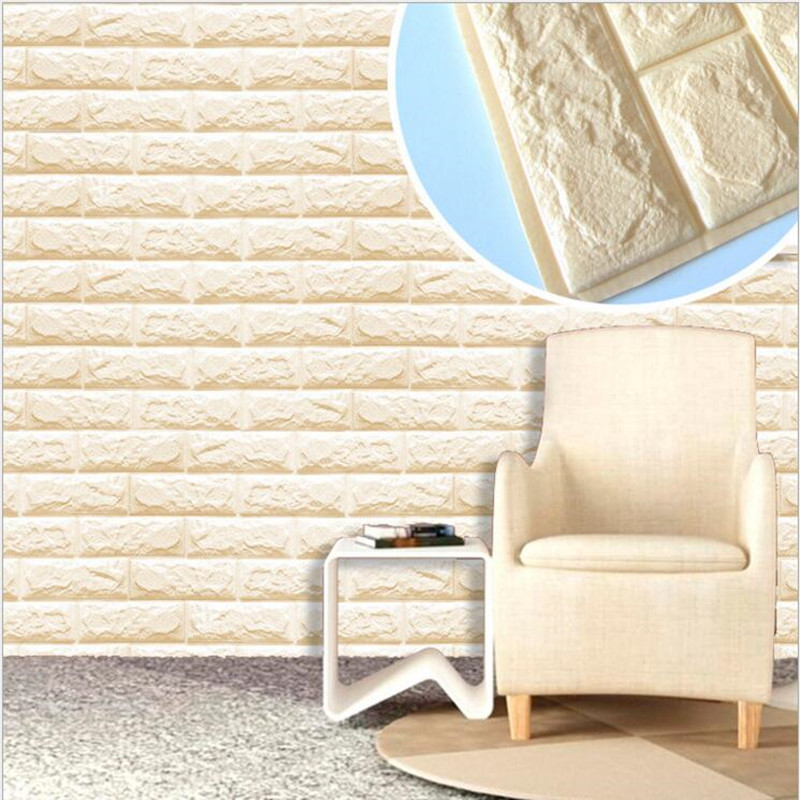 3d brick pattern self adhesive wallpaper home decor for 3d self adhesive wallpaper