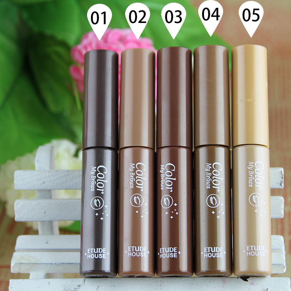 Angel mask stylenanda brand brows eyebrow dye cream makeup brush waterproof durable 5 colors gel Enhancer - Alice Jiang store