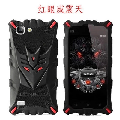 New Silicone 3D cartoon Megatron case for BBK Vivo X3L case cover BBK x3l cover emulate Gun Metal phone case soft back cover(China (Mainland))