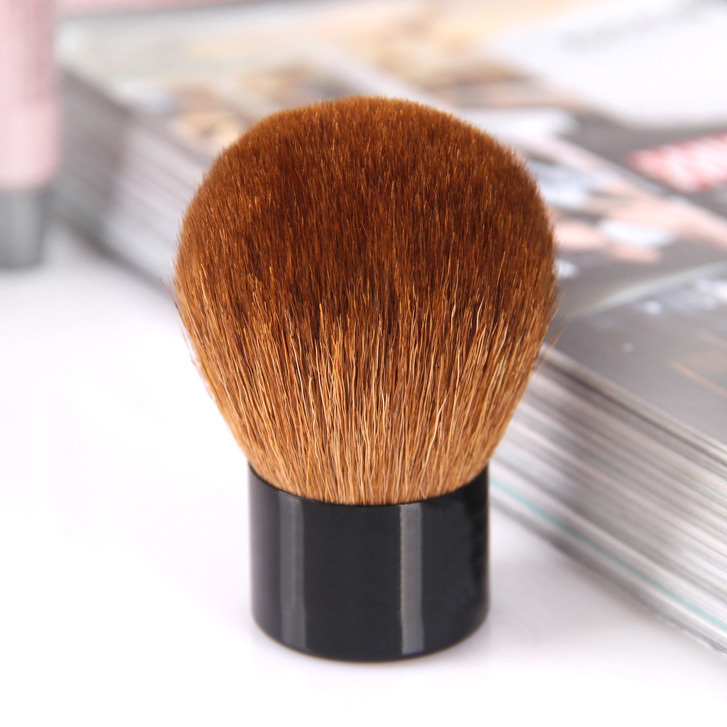 100% Goat Hair Kabuki Brush Powder Makeup Tools - Yasteelau Cosmetic Kits Co., Ltd. store