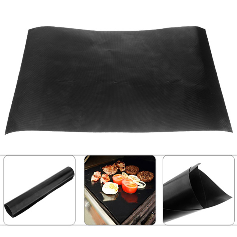 Teflon Barbecue Grill Mat For Microwave Oven Outdoor Bbq