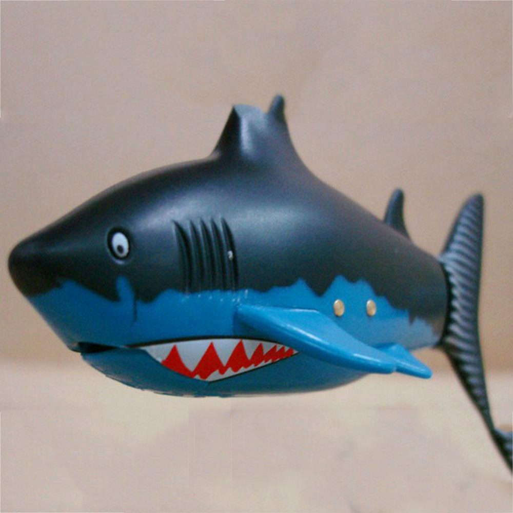 Shark Toys For Boys With Boats : Coke can radio rc mini electric electronic shark fish boat