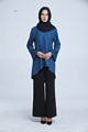 fashion high quality Islamism girl s top casual chiffon shirt long sleeve blouses tops plus size