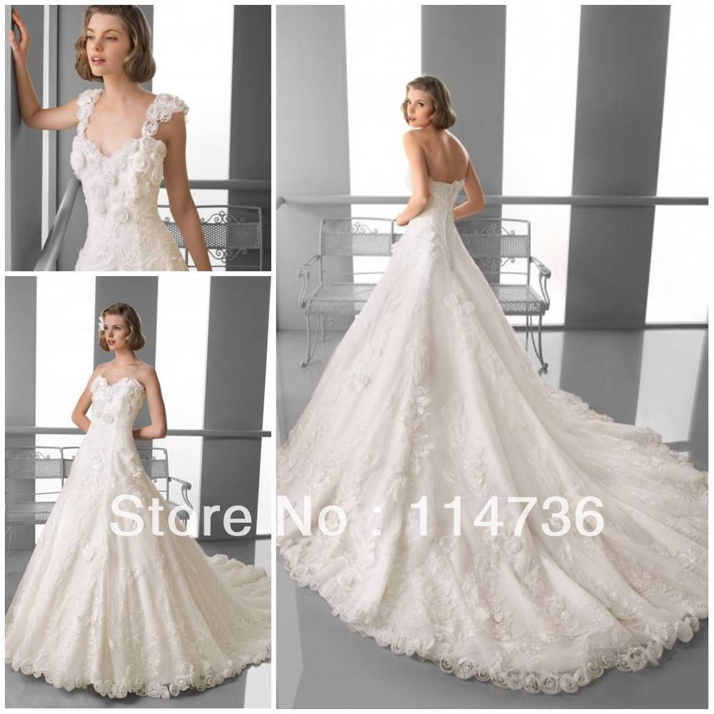 Buy fabulous royal wedding dresses for Wedding dress with removable train