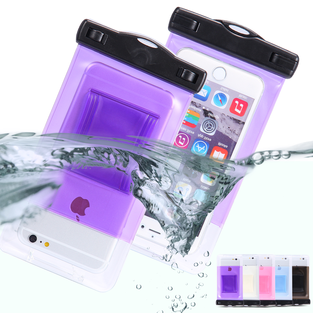 Waterproof Bag Pouch Cases for iPhone 6 6s Plus/5S/4s Underwater Diving For Galaxy Edge/S6/S5/S4/S3 For Samsung Note 4/3/2 Phone(China (Mainland))