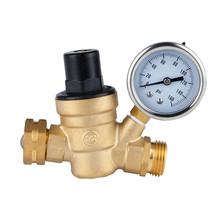 Buy 3/4 DN20 Brass water pressure regulator Gauge pressure maintaining valve water pressure reducing valve RV accessories valve for $34.32 in AliExpress store