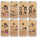 Funny Monkey Emoji Coque Fundas For iPhone 6 6s Plus 5 5s SE 4 4s Transparent Silicone Clear Soft TPU Cell Phone Cases Slim NEW