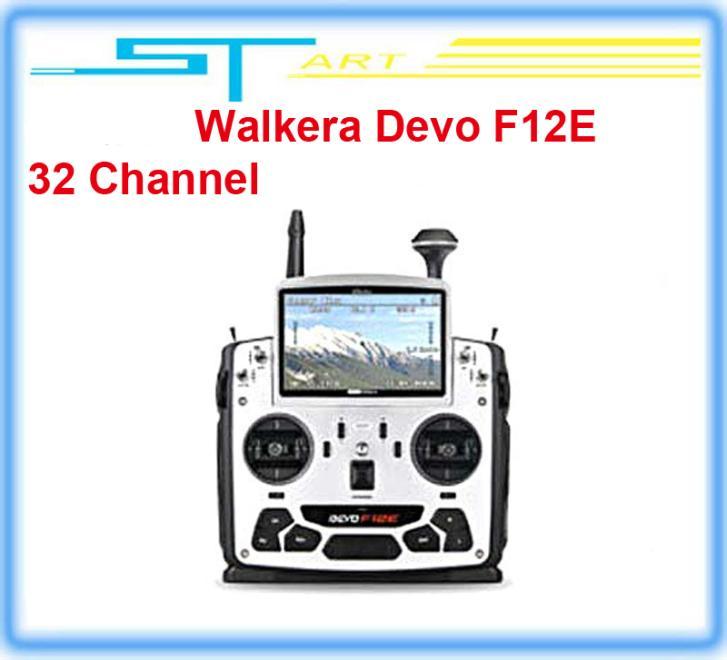 Здесь можно купить  2pcs/lot 2014 Walkera Devo F12E FPV Transmitter Build-in 32 Channel Telemetry Radio for H500 X350 pro X800 RC Dro remote control  Игрушки и Хобби