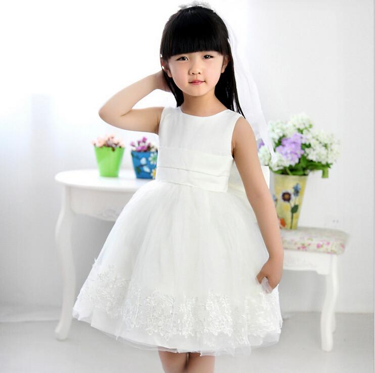 2016 Children Wedding Dress For Girls Child Bridesmaid