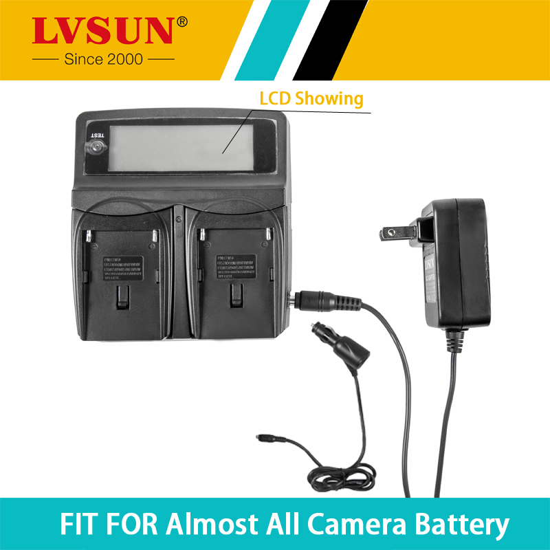 LVSUN DC & Car Universal NB-4L NB4L Camera Battery Charger for Canon Digital IXUS 100 110 30 IS IXY Digital 10 SD300 Recharger(China (Mainland))