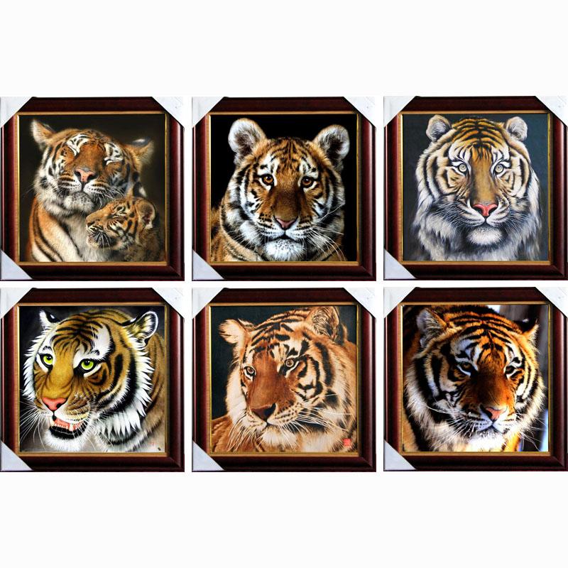 Top Fashion Diamond Embroidery Diy Diamond Painting Mosaic Picture Pattern Cross Stitch Full Rhinestone tiger(China (Mainland))