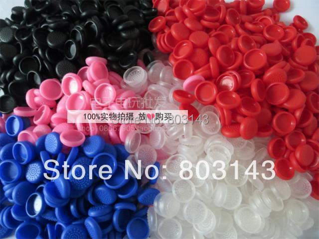 10 Hot mix colors TPU ps4 ps3 XBOX360 thumbstick joystick cover grips caps skin - TOPWin video game repair store