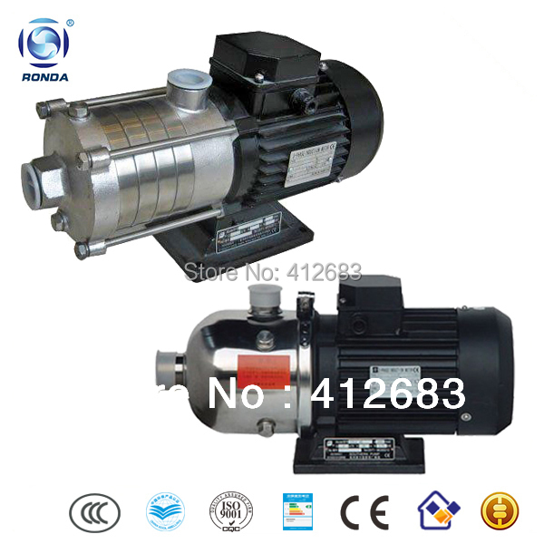 CHL12-20 stainless steel horizontal multistage water transfer pump(China (Mainland))
