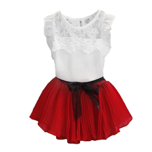 Buy Baby Girl Dress 2017 New Summer Kids Princess Dress Girls baby Clothes Children clothing 2pcs set suit vestidos infantis for $2.78 in AliExpress store