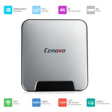 Buy Cenovo MINI PCS Windows 10 Mini PC Intel Cherry Trail Z8350 64 Bits 4GB 64GB 4K BT4.0 WiFi 1000M LAN Smart TV Box Media Player for $133.62 in AliExpress store