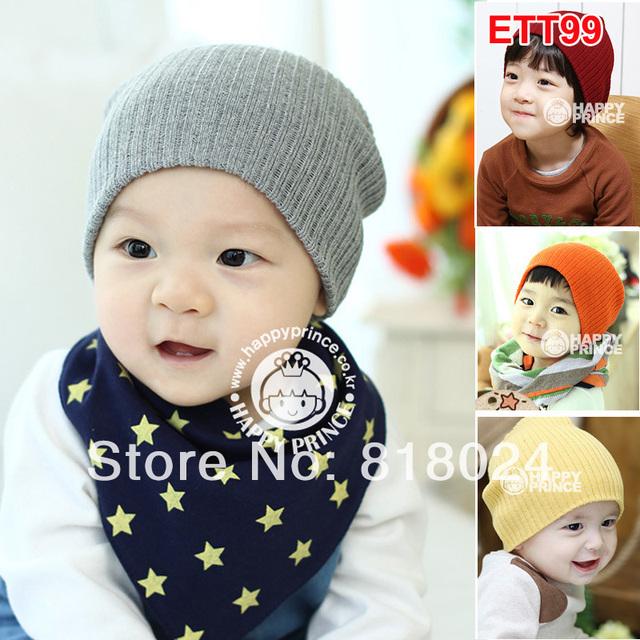 10 Colors твердый 2014 осень зима 2-слой детские шапочки весна дети зажигания для мальчик в девочке младенческой шляпы для 1 - 3 т 10 шт./лот