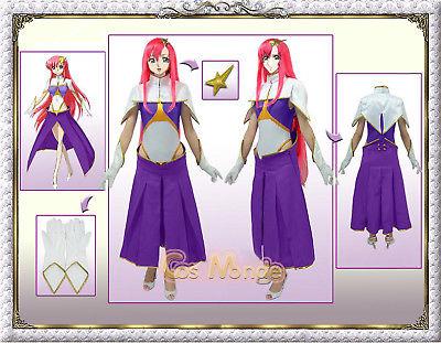 Halloween anime costumes font b GUNDAM b font Miya Kilube Meer Campbell Cosplay Free Shipping