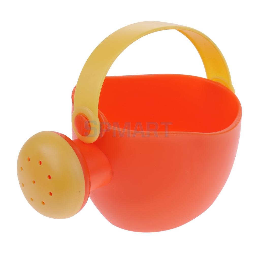 Set Of 4pieces Children\`s Water Bath Beach Sand Garden Toy Tool Kit Kid Outdoor Sandpits Play Toy Waterwheel Watering Can