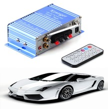 12v Hi-Fi Mini Digital Motorcycle Auto Car Super Bass Stereo Power Amplifier Sound Enlarger Audio Music  Player auto amplifier(China (Mainland))