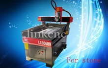 Jinan cheap good working water cooling spindle cnc router machine 0609 advertising cnc router(China (Mainland))