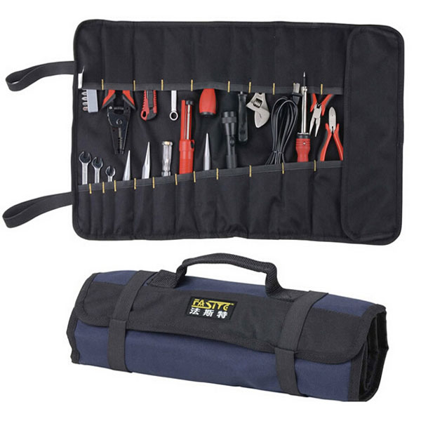 Fasite 600D Mandrel Toolkit Oxford Waterproof Electrician 21 tool sidekicks Tool Bag BG44(China (Mainland))