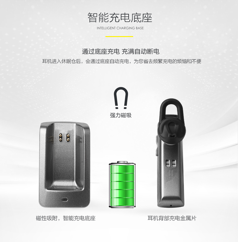 XY1234 Bluetooth Earphone Wireless Stereo Earphones In-Ear Earbuds Hands Free Niose Cancelling Portable with Mocrophone