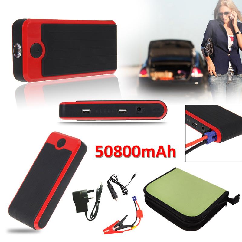 Здесь можно купить  R1B1 50800mAh Multi Functional Car Emergency Jump Starter Power Bank External Backup Battery Charger for Mobile Phone Tablet UK  Автомобили и Мотоциклы