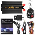 Vehicle Car GPS Tracker 103B With Remote Control GSM Alarm SD Card Slot Anti theft Realtime
