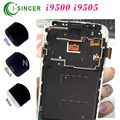 10PCS For Samsung 9500 9505 For Galaxy S4 LCD Display Touch Screen Digitizer Assembly With Frame