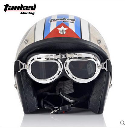 2015 Tank genuine electric car motorcycle half helmet retro helmet Harley helmet Spring(China (Mainland))