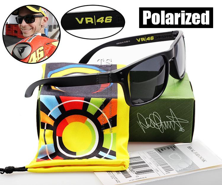 Polarized Holbrook Sunglasses Oculos VR46 Julian Wilson MotoGP Signature Sun Glasses Sports Cycling UV400 Oculos De
