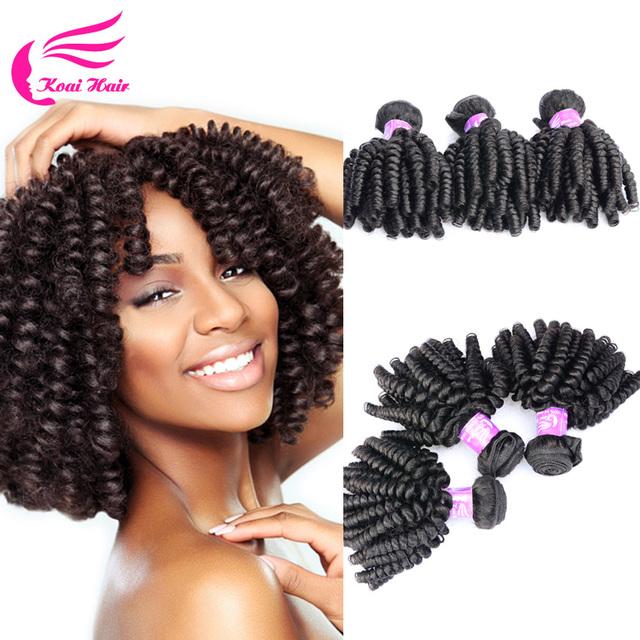 Crochet Virgin Hair : New Crochet Braid Hair 4 Bundles Brazilian Kinky Curly Virgin Hair ...