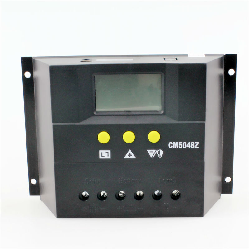 CM6048Z New Type PWM 60A 48V DC input LCD display Solar Charge Controller Solar charge controller with CE ROHS SGS(China (Mainland))