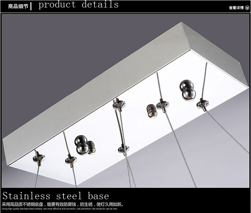 Купить ZX Crystal LED Подвесной Светильник Творческий Блеск Музыкальная Нота Обломок СИД Подвеска Светильники Ресторан Гостиная Спальня Лампа