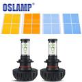 Oslamp 60w pair H7 DIY 3000k 43000k 6500k 8000k 10000k Car LED Headlight Bulb 12V 24V
