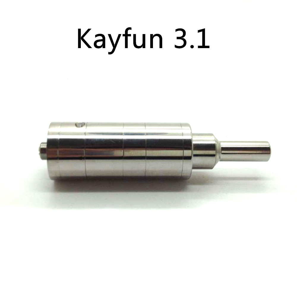 Гаджет  Kayfun 3.1 Atomzier Russia DIY Cartomizer Stainless Steel Airflow Control Bottom with Retail Package ithaka RBA Atomzier None Бытовая электроника