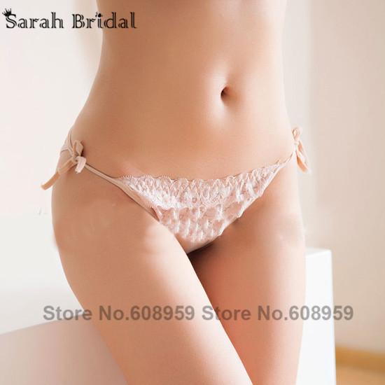 8 Colors 2015 Hot-sale Lace Bridal Panties Sexy Bridal Lingerie Low Waist Hiphuggers Bridal Undergarments 13008(China (Mainland))