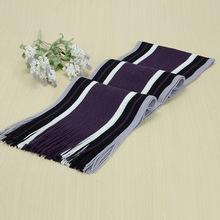 Bufanda de diseñador de invierno para hombre, bufanda de algodón a rayas, chal de marca para mujer y hombre, bufanda de Cachemira tejida, bufandas a rayas con borlas(China)
