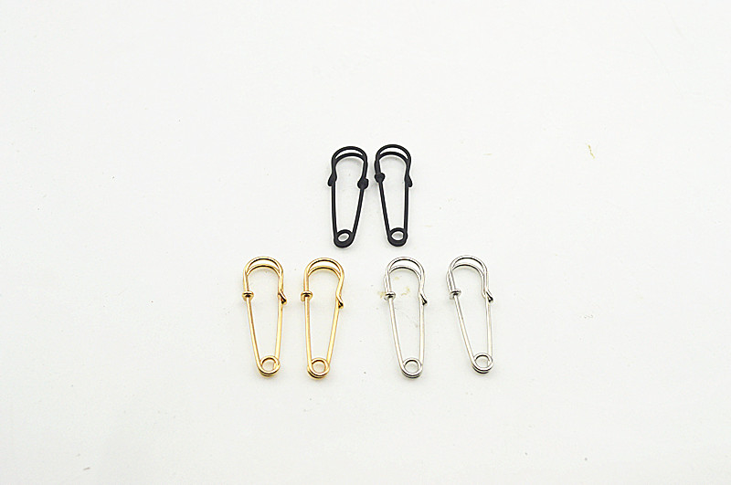 Wholesale Brand New Fashion Jewelry Earrings Popular Paper Clip Matte Black Gold and Silver Alloy  Earrings for Women Bijoux(China (Mainland))
