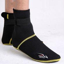Unisex Neopren Dalış Tüplü Dalış Ayakkabı Çorap Plaj Çizmeler Wetsuit Anti Çizikler Kış Isınma Anti Kayma Mayo(China)